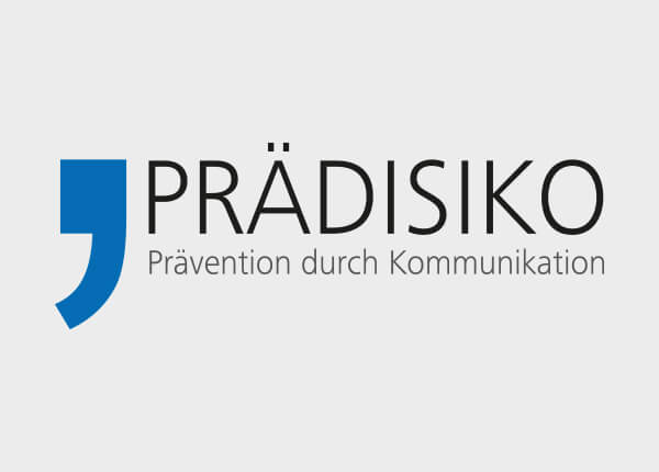 Logo: PRÄDISIKO - Prävention durch Kommunikation.