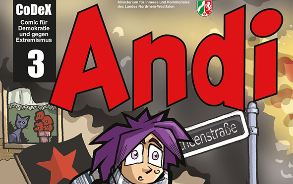 "Prävention: Comic ""Andi"""