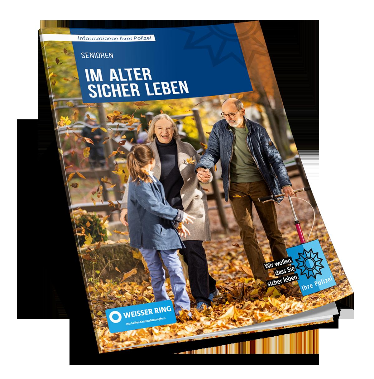 """Broschüre """"Im Alter sicher leben"""""""